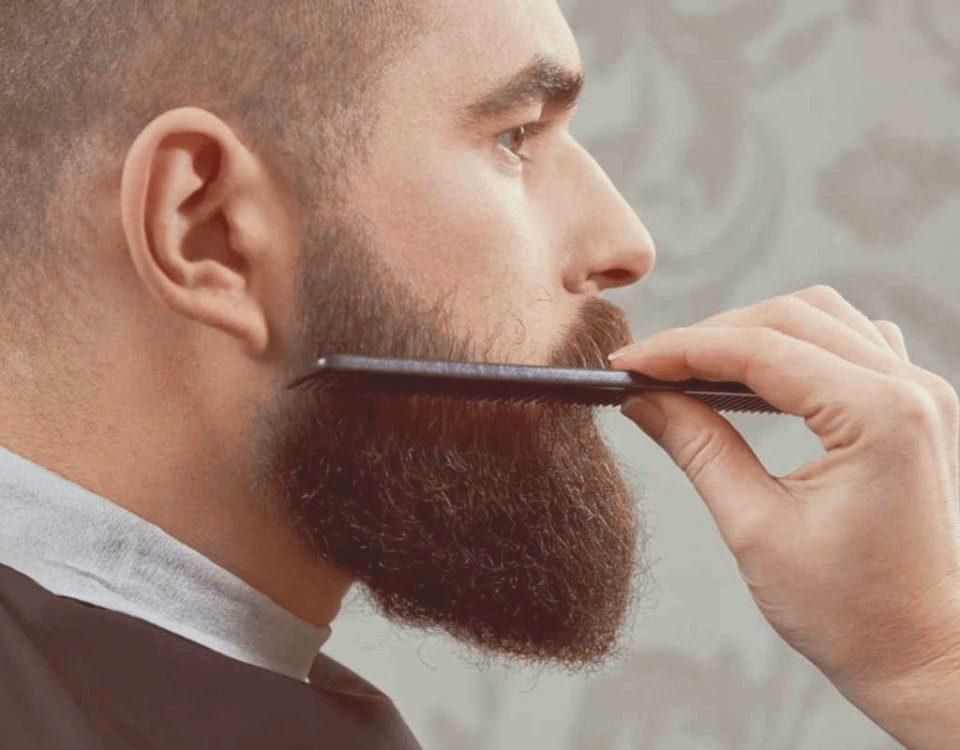 get rid of beard acne